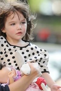 Niña de tres años