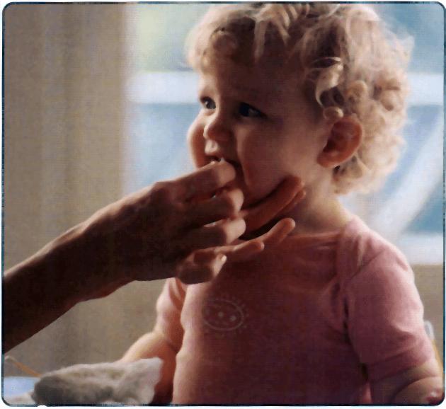 Niño en el pediatra
